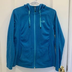 The North Face Blue Fleece Zip Up Size M